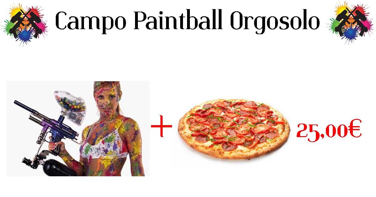 Offerta Paintball Orgosolo